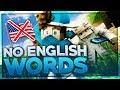 NO ENGLISH WORDS CHALLENGE mit MINIMICHECKER!   BaumBlau