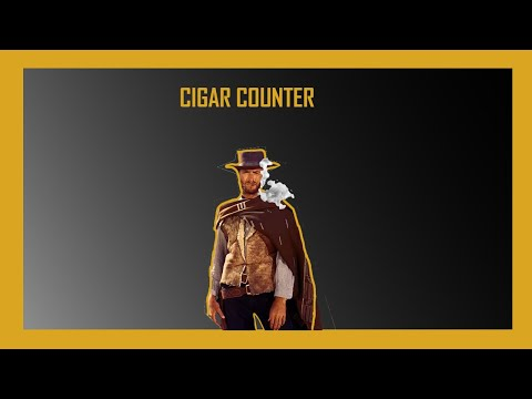 Clint Eastwood's Dollars Trilogy Cigar Count