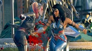 WONDER WOMAN MATA A HARLEY QUINN?? - MI ESCENA FAVORITA DE INJUSTICE 2
