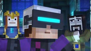 Realitate Virtuala ! - Minecraft Story Mode [24]
