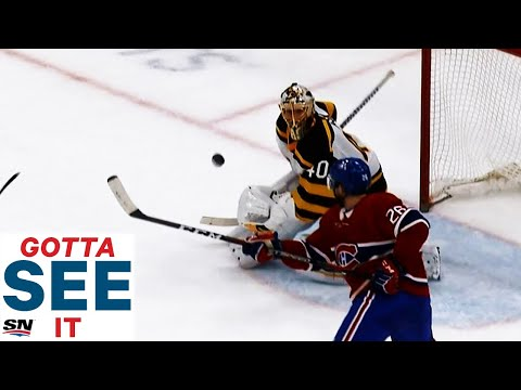 GOTTA SEE IT: Jeff Petry Takes Backhand, Mid-Air Swing For OT Winner Against Bruins