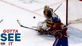 GOTTA SEE IT: Jeff Petry Takes Backhand, Mid-Air Swing For OT Winner Against Bruins