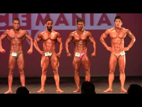 MMAsia 2015 - Men's Bodybuilding (Middleweight)