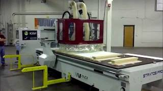 Andi / Anderson Stratos Pro Nesting & Window Component Demo - Akhurst Machinery