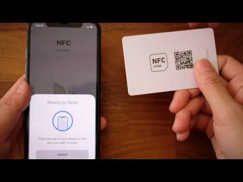 How To Scan NFC (iPhone 7, 7 Plus, 8, 8 Plus, X)