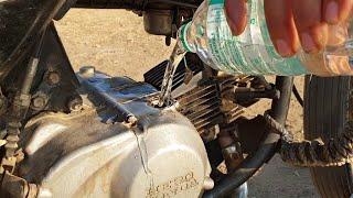 मेने गाड़ी में Oil कि जगह पानी डाल दिया अब क्या होगा - Using water as Engine oil in petrol Bike