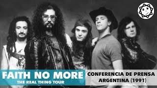 Faith No More - Conferencia de Prensa Argentina (1991)