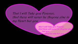 I will Take you Forever Karaoke Version by Kris Lawrence and Denise Laurel