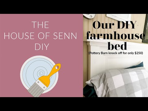 DIY Pottery Barn Inspired Bed: The Looks for Less