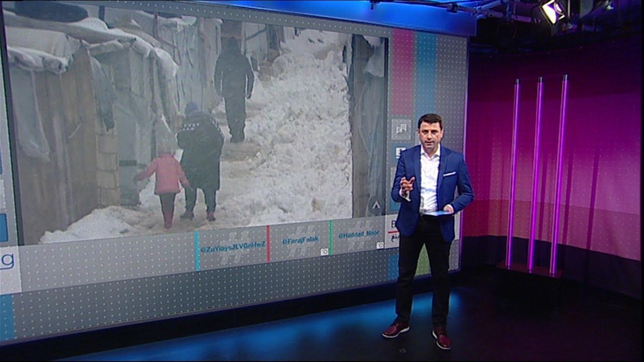 كيف سخر #راغب_علامة بطرافة من فيضانات #لبنان؟   #بي_بي_سي_ترندينغ