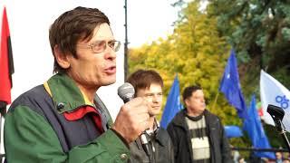 Отец и сын Майдана присоединились к протестующим под Радой