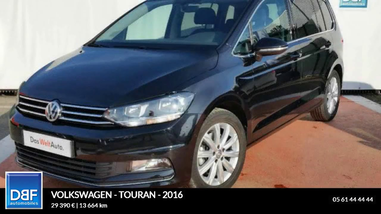 annonce occasion volkswagen touran 2 0 tdi 150ch. Black Bedroom Furniture Sets. Home Design Ideas
