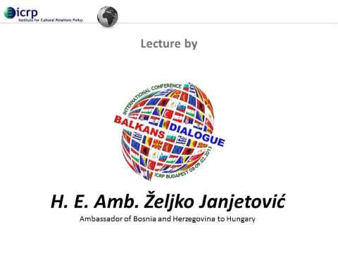 Lecture by H. E. Amb. Željko Janjetović