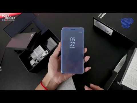 Unbox Galaxy Note FE chính hãng - Samsung Pay ngon lành, ClearView cực đẹp - Tony Phùng