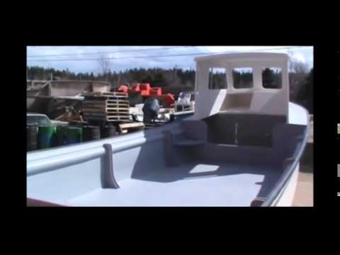 OCEANFISHER BOATS NEWFOUNDLAND 27 FOOT FISHING BOAT