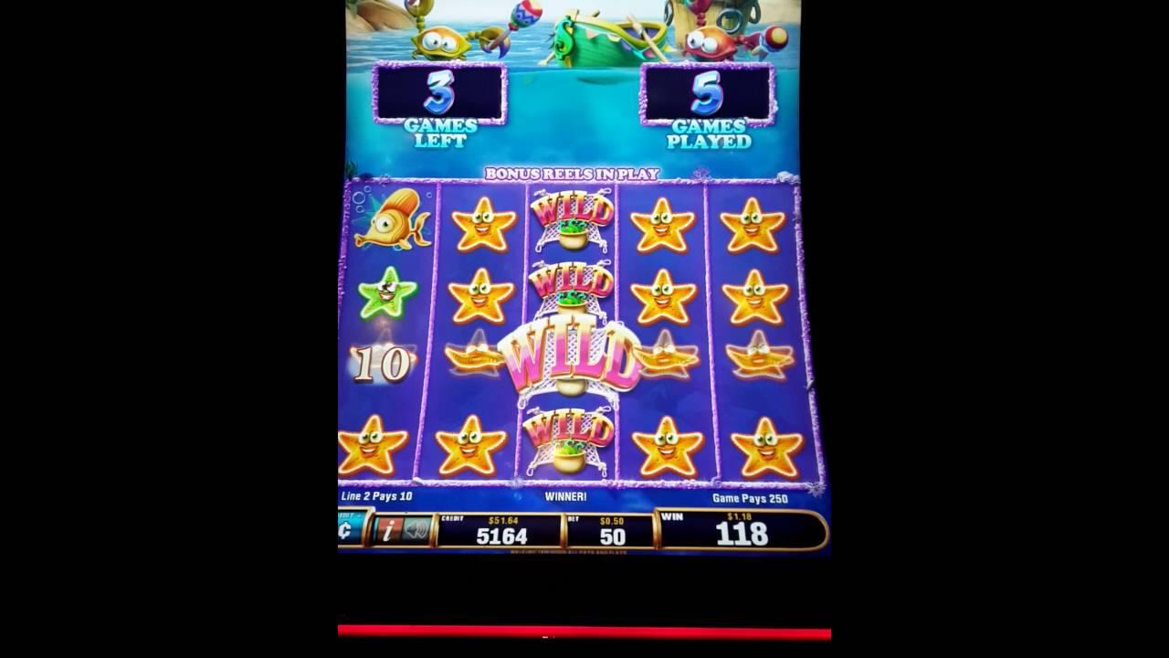 Big win fishing slot machine 1 hotel new york new york for Fish slot machine