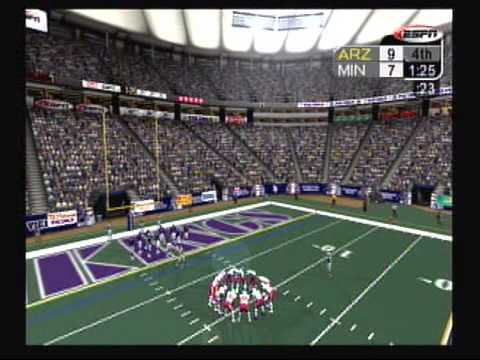 TPGR : NFL 2K5 Vikings vs. Cardinals part 2 (XBOX)