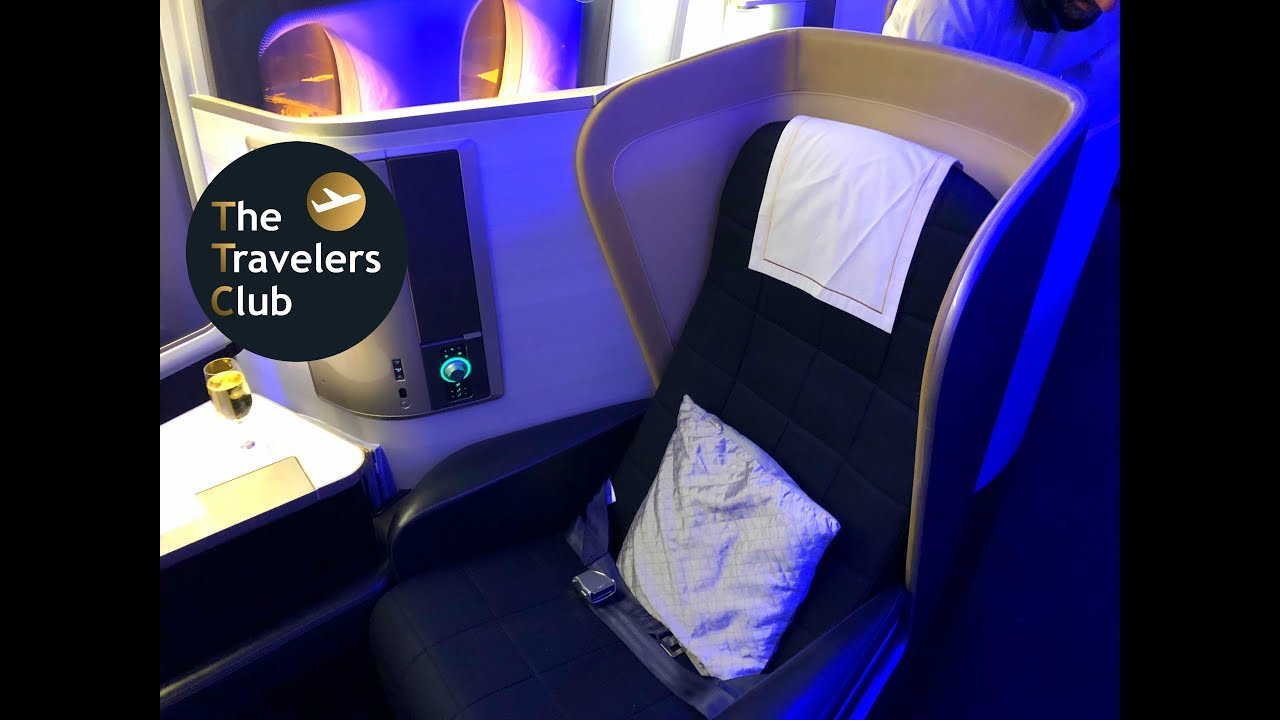 BRITISH AIRWAYS FIRST CLASS REVIEW | SEATTLE - LONDON ...