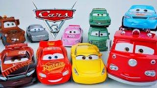 CARS 3 NITROADE CRUZ STERLING DINOCO PISTON CUP RACERS NEXT GEN RUSTEZE RACING CHARACTERS DIECAST