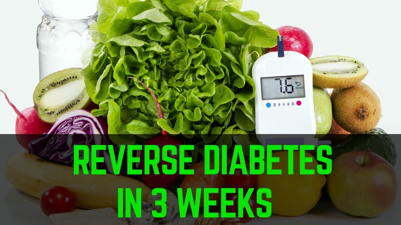 3 week diet to cure diabetes