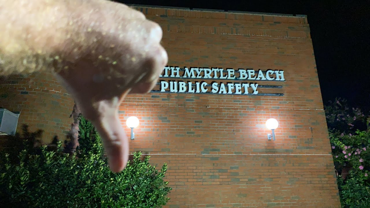 Useless tyrants aftermath!! North Myrtle beach police are crazy.