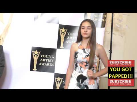 Savannah McReynolds at the 37th Annual Young Artist Awards Sportsman Lodge in Studio City
