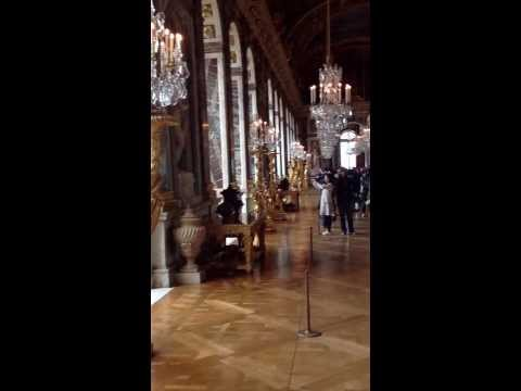 Walkin in the Hall of Mirrors, Versailles, France!!!