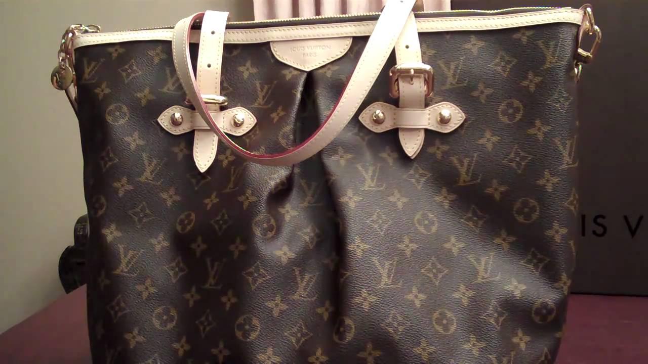 5771b235931 Louis Vuitton Haul (Palermo GM) - YouTube