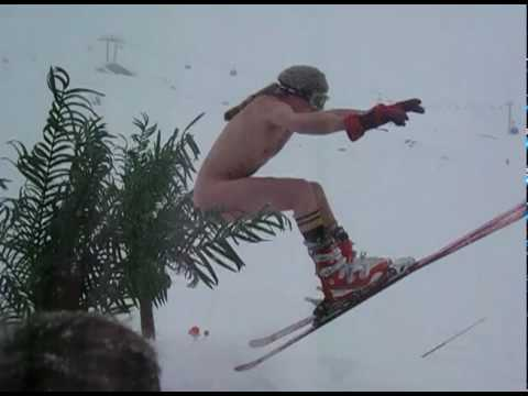 Naked Skiing [VIDEO DIARY]
