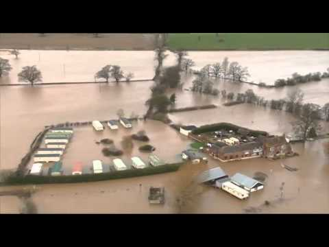 Flooding Tewkesbury Jan 2014