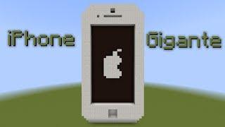 Invenção: iPhone gigante com música e câmera! (14w08a)   Minecraft