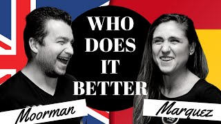 WHO DOES IT BETTER: Chris Moorman vs Ana Marquez