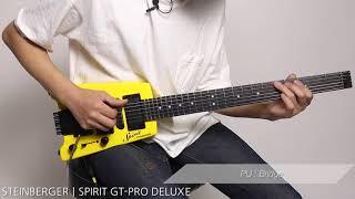 STEINBERGER / SPIRIT GT-PRO DELUXE【デジマート・マガジン製品レビュー】
