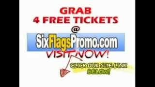 Tickets for Six Flags Great America June 2012 FREE COUPONS!