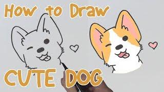 How to Draw Cute Cartoon-Hund | Niedlichen Zeichnungen