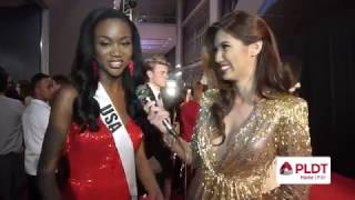 miss usa 2016 deshauna barber interview at 65thmissuniverse governors ball