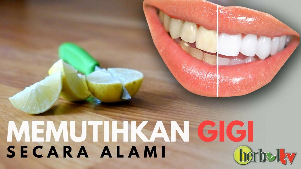 Cara Memutihkan Gigi Dengan Jeruk Nipis Dan Garam Natural Ways To