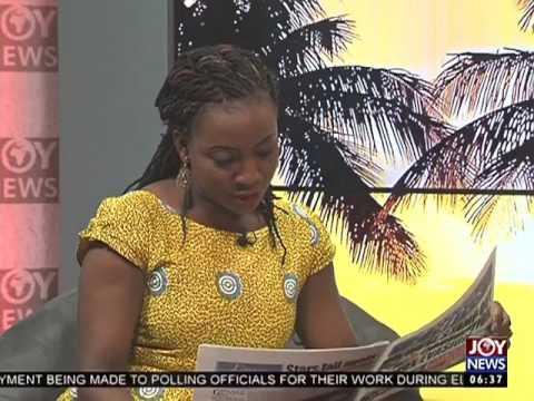 AM Show Newspaper Headlines on Joy News (3-2-17)