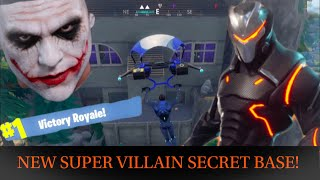 Season 4 *NEW SECRET* SUPER VILLAIN Base - Fortnite Battle Royale