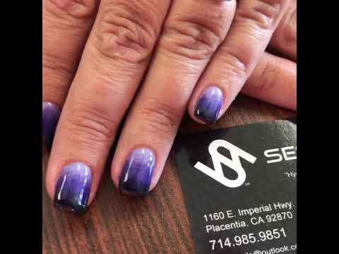 3 Sns Color Ombré Sessy Nails