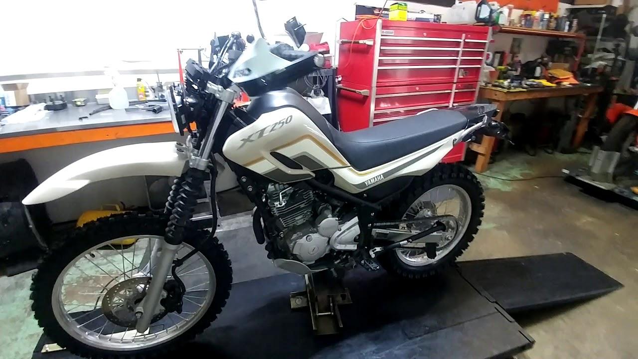 Yamaha XT250 upgrade by liorsmotoride