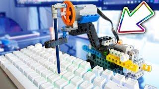 CHEATING in ROBLOX 5 .. (LEGO AUTO CLICKER in ROBLOX)