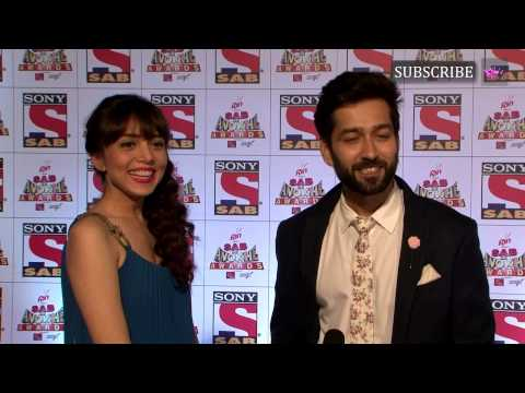 Sab Ke Anokhe Awards 2015 | Nakul Mehta with his wife Janki