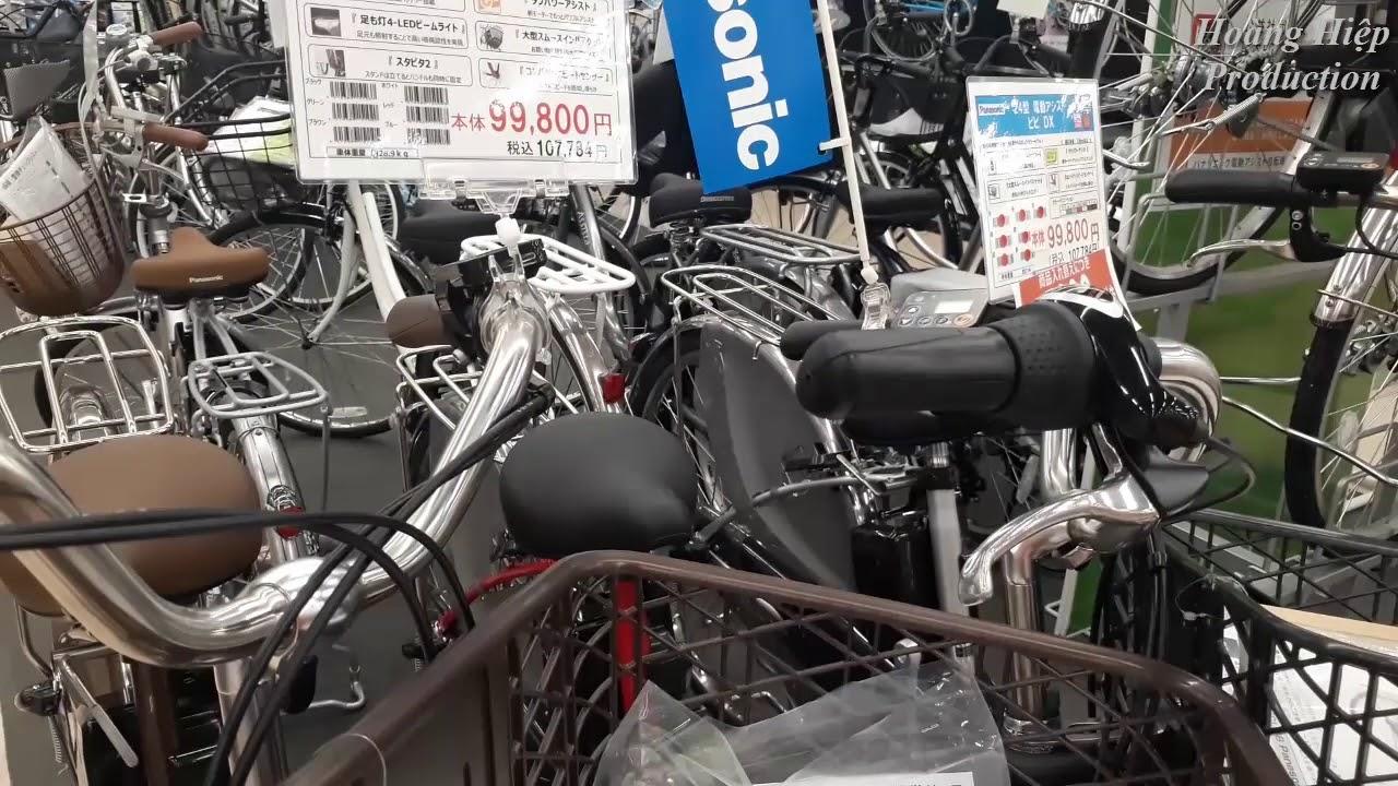 Cuộc sống ở Nhật: Xe đua, xe đạp điện đủ các loại đây nhé mn