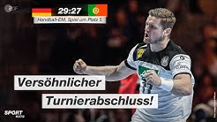Spiel um Platz 5: Deutschland - Portugal 29:27 - Highlights | Handball-EM 2020 - ZDF