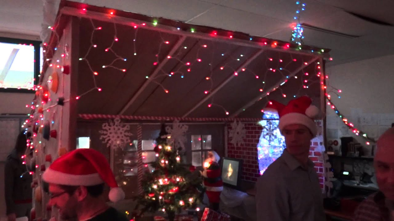 office christmas decor. Office Christmas Decorations: It\u0027s A Very Netcarrier Christmas! - YouTube Decor I