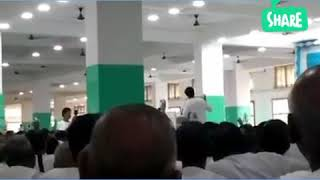 Rev. Abin dada delivering his important speeches