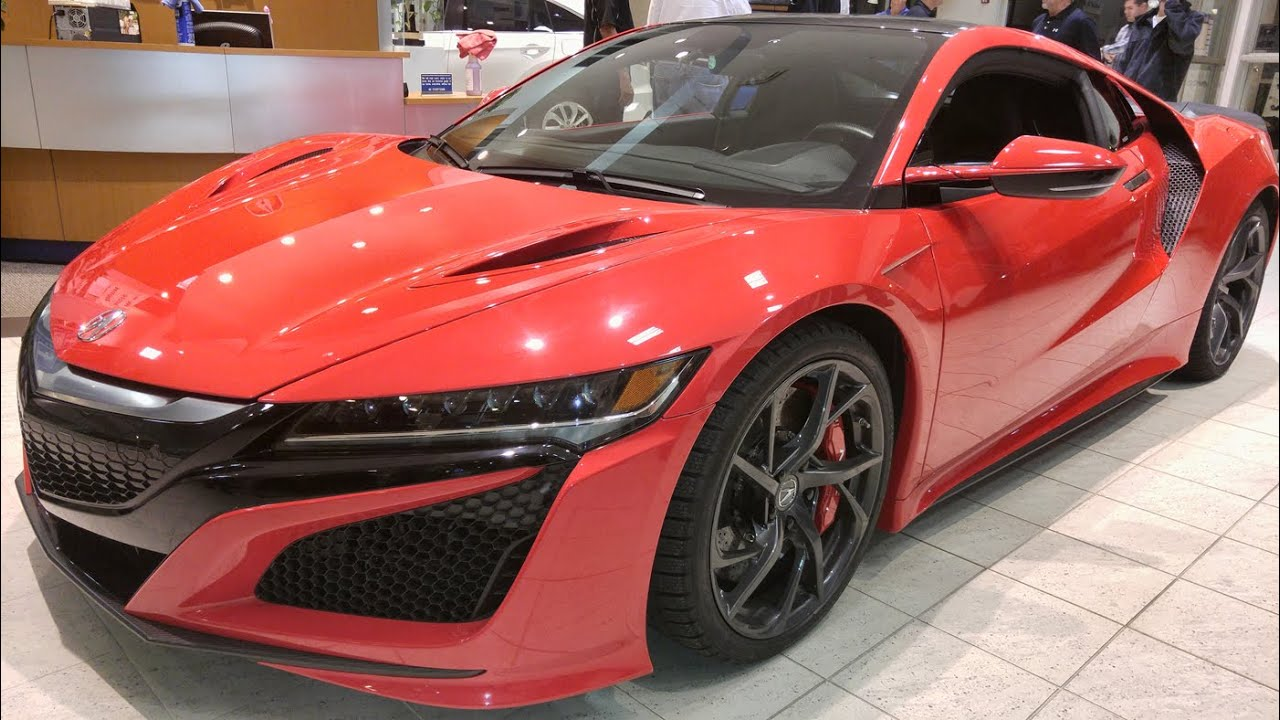 2017 Acura Nsx Visits Smail Acura Greensburg Youtube
