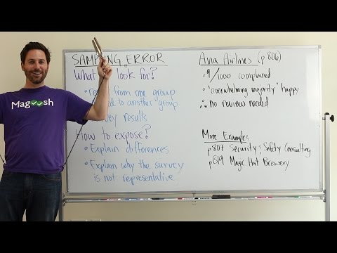 GMAT Tuesday: Common Flaws in AWA - Sampling Error