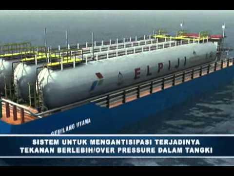 animasi carrier barge full